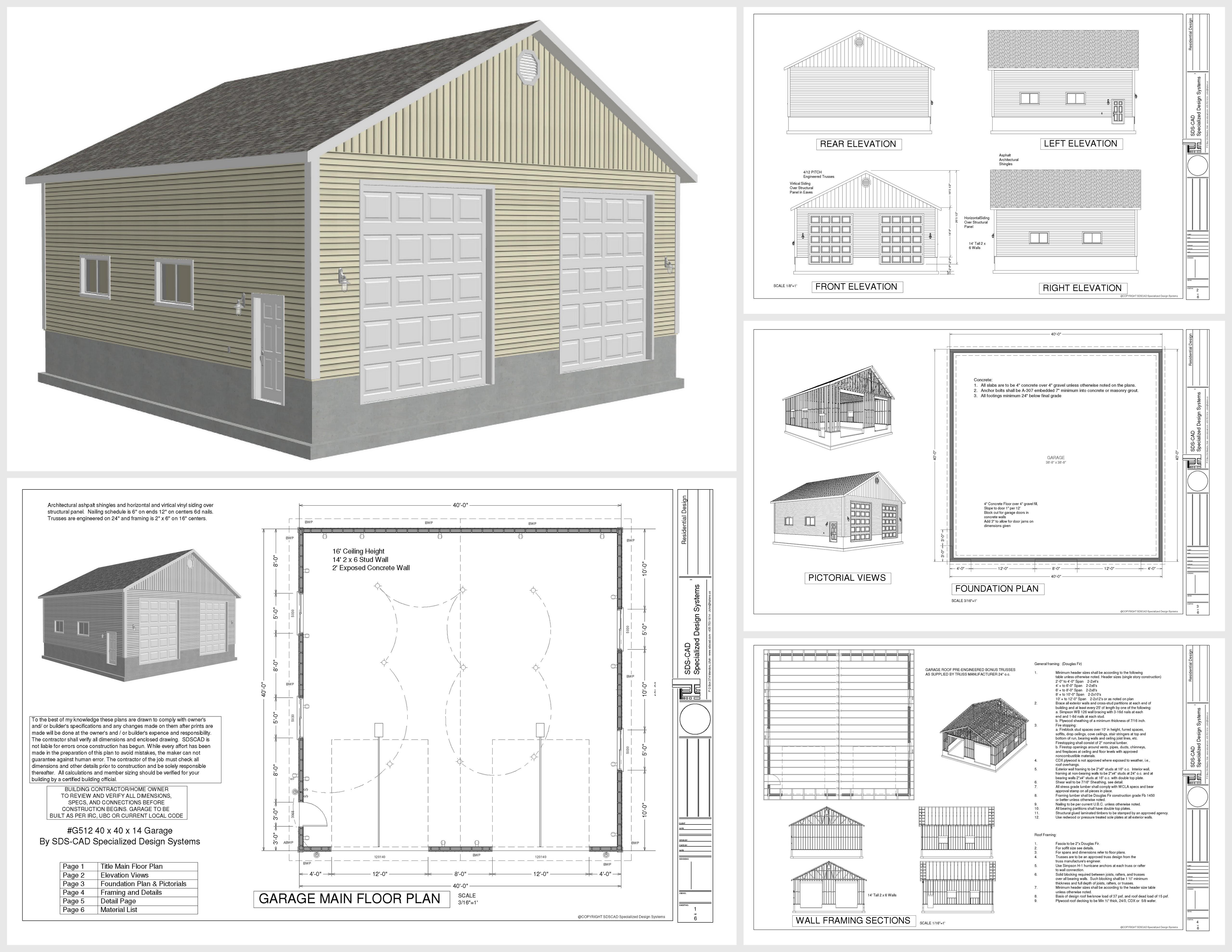 Apartment Style Garage Plans