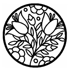 easy paisley coloring pages at getdrawings  free download