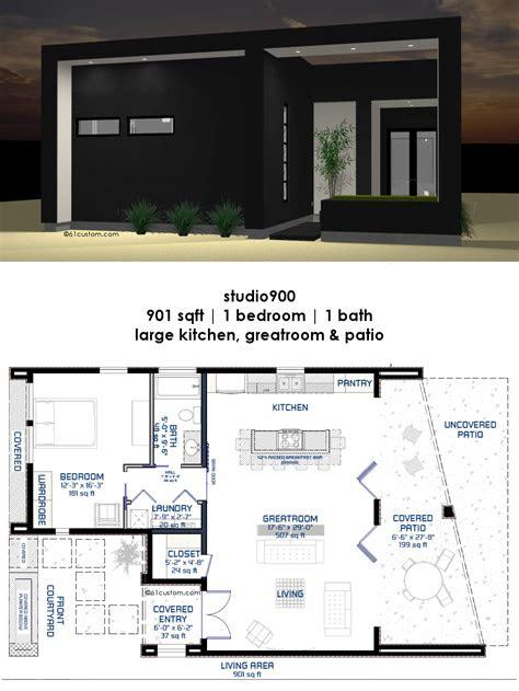 modern small house plan offers  bedroom  bath