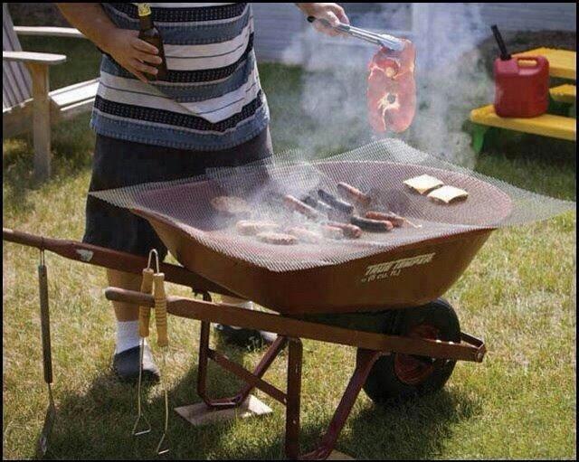Redneck barbecue pit!