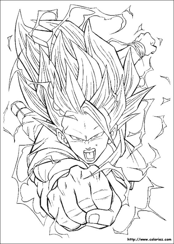 Index Of Imagescoloriagedragon Ball Z