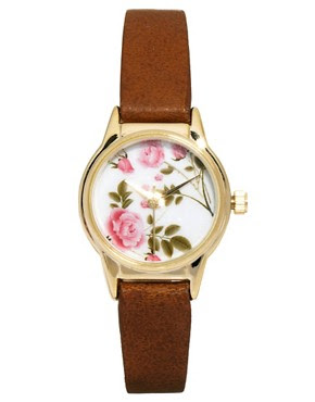 Image 1 ofRiver Island Floral Helen Watch