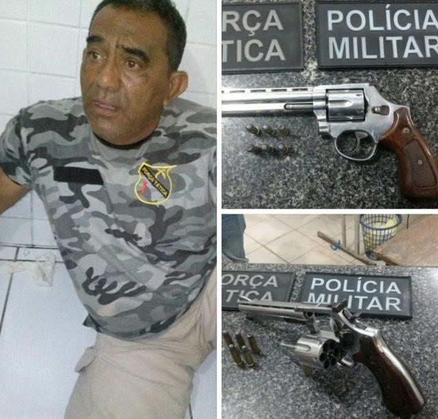 Homem é preso em flagrante fazendo falsa Blitz no Maranhao
