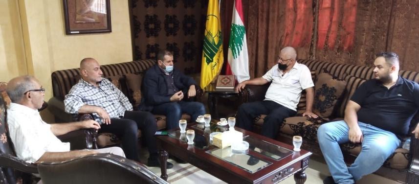 حزب الله  يستقبل الجبهة الشعبية