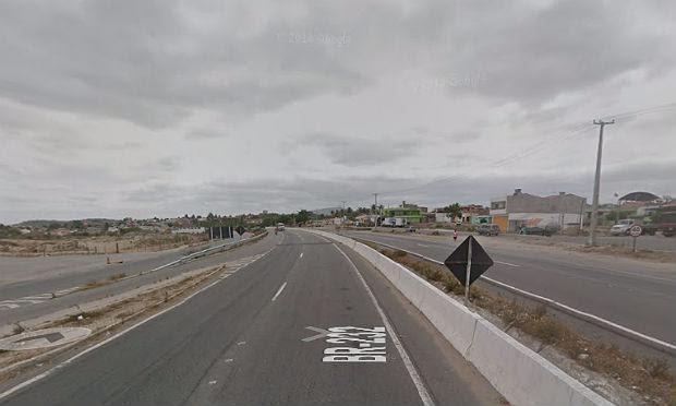 Epicentro dos tremores de terra é no município de São Caetano, no Agreste de Pernambuco. / Foto: reprodução/Google Maps