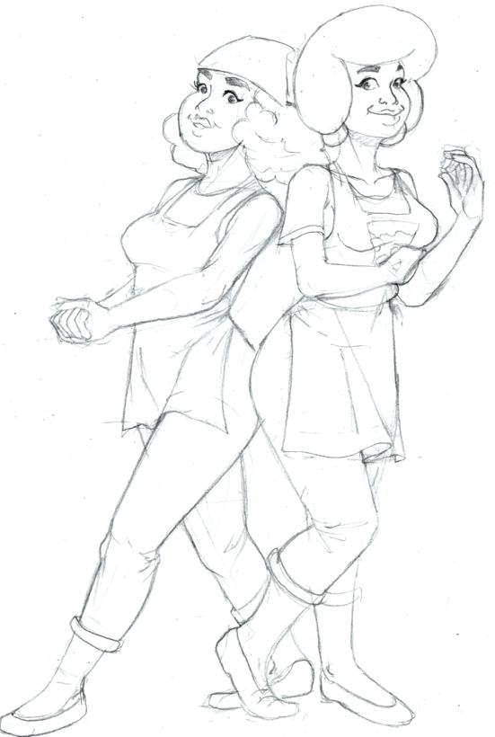 Jenny and Kiki.