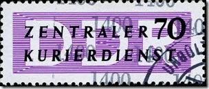 DDR staatskurier