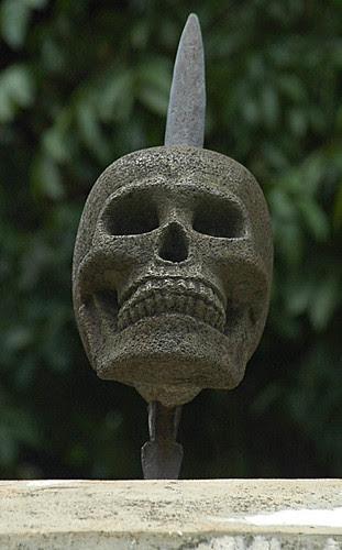 skull @ Museum Taman Prasasti