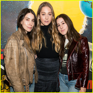 Haim Debut New Short Film 'Valentine' At Brooklyn Screening!