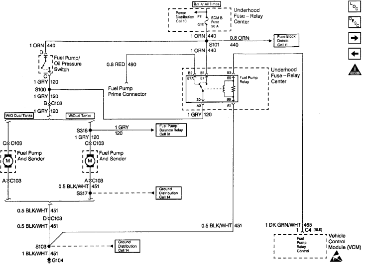 28 Gm Fuel Pump Wiring Diagram - Wiring Diagram List