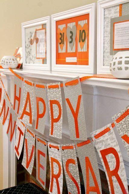 Happy Anniversary! Set up night before   Anniversary Gift