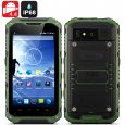 Android Rugged Smartphone 'Ox II' - Android 4.4 OS, MTK6582 Quad Core CPU, IP67 Waterproof + Dust Proof Rating, OTG (Green)