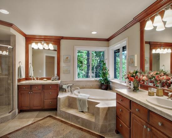 Exquisite Corner Bathtub Designs Symbolizing Bathroom ...