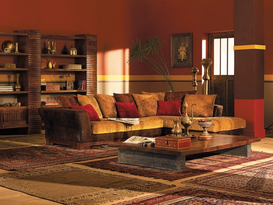 Ethnic Indian Living Room Interiors | Home is where the ...