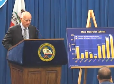 Gov. Jerry Brown reveals his revised budget