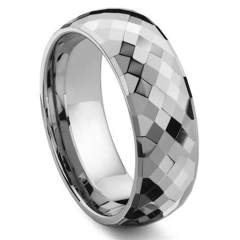MERCURY Tungsten Carbide Wedding Band Ring
