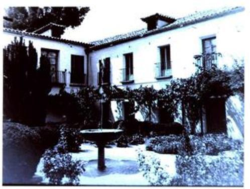 Jardines del Palacio de Buenavista a comienzos del siglo XX