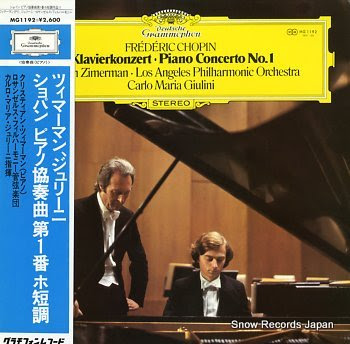 ZIMERMAN, KRYSTIAN chopin; klavierkonzert piano concerto no.1