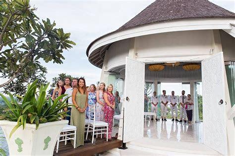 View chapel wedding in Bali