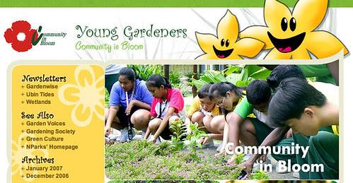Young Gardeners Blog