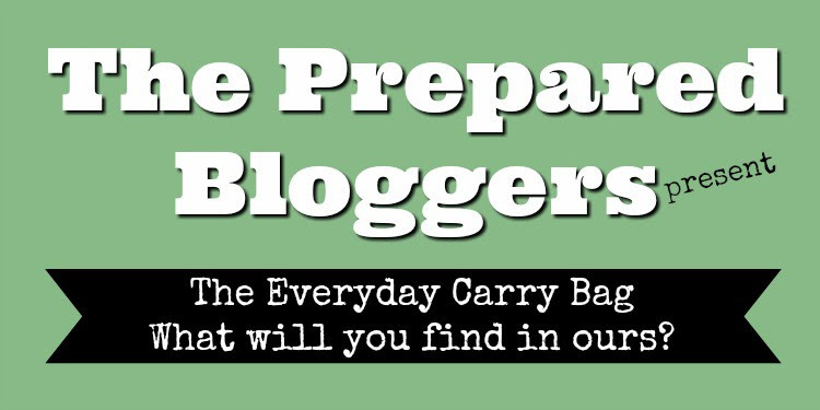 The Prepared Bloggers present - Everyday Carry Bag. What will you find in ours?