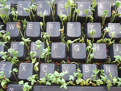 Creative and Cool Reuse of Old Computer Keyboards (30) 15