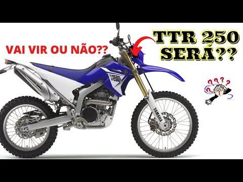 Yamaha vai lançar uma TTR 250 para competir com a CRF 250F será??