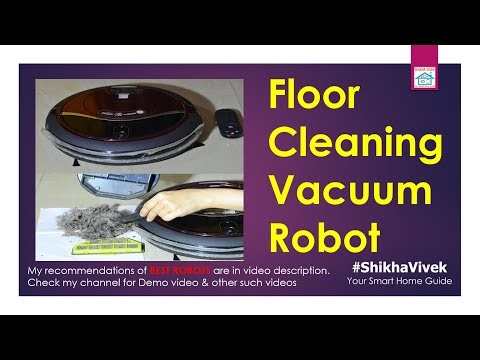 Floor Cleaning Robots: How Robotic Vacuum Cleaner works and cleans dirt