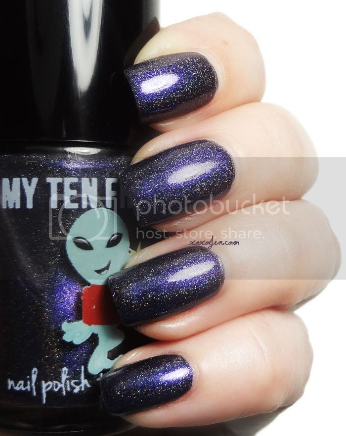 xoxoJen's swatch of My Ten Friends Quantum Singularity