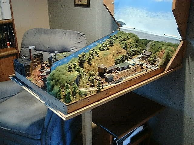 63 N GAUGE 6 X 4 LAYOUT