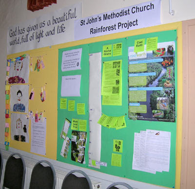 Rainforest Fund Project Display