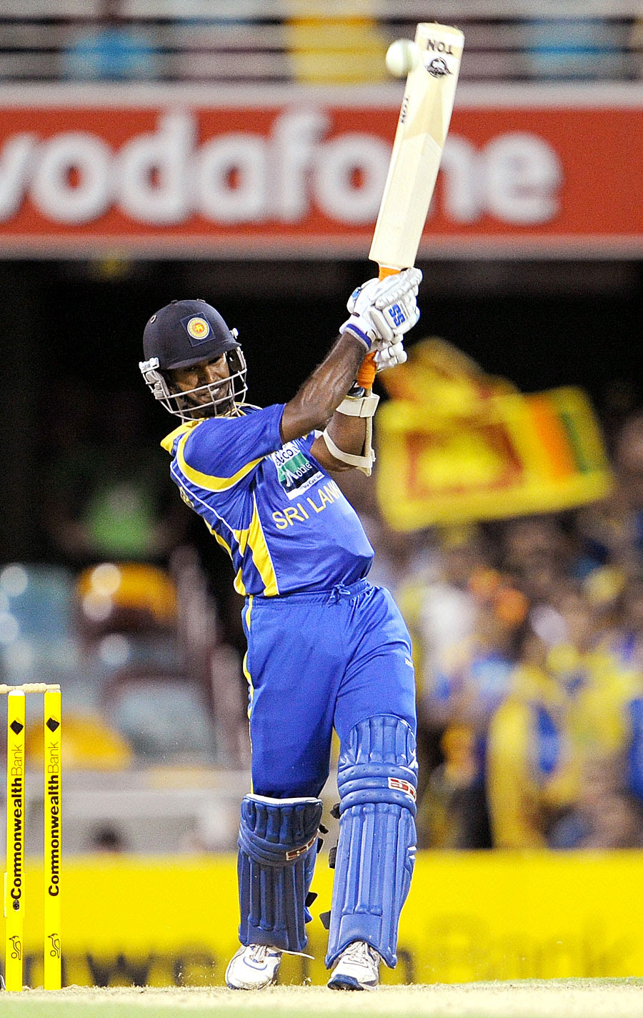 Nuwan Kulasekara hits out during his blistering 73