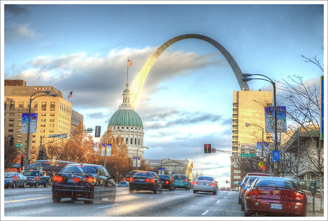 Arch From Market Street 2010-12-05