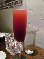 Blood Orange Bellini