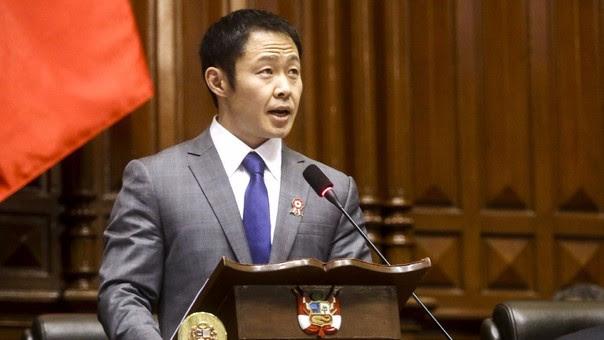 Como congresista más votado, Fujimori presidió la ceremonia de juramentación de congresistas de este año.