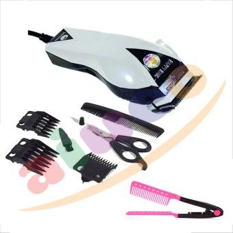 Jual Happy King HK 900 Professional Hair Clipper Trimmer Mesin Alat Cukur Putih Bundling Sisir Ion Online Review - duesstore