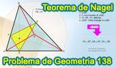 Problema de Geometría 138. Teorema de Nagel, Triangulo Órtico, Circunradio, Perpendicular.