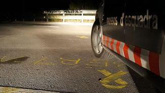 Els incidents s'han produït després del sopar convocat a les portes de la presó de Lledoners