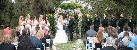 Santa Clarita Wedding Venues   San Fernando Valley Ceremonies