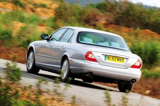 jaguar xj 35 v8  luxus light  autobildde
