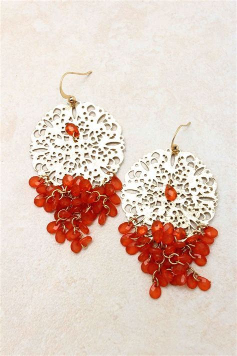 25  best ideas about Bridal chandelier earrings on