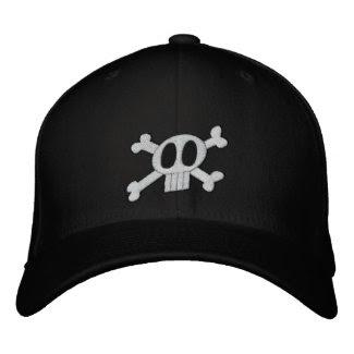 Skull & Crossbones Embroidered Hat embroideredhat