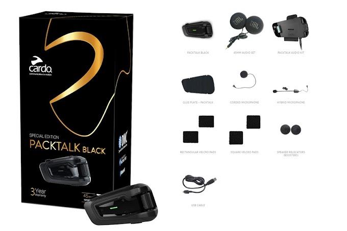 Cardo System Resmi Rilis Packtalk Black Special Edition oleh - modifcbr250.com