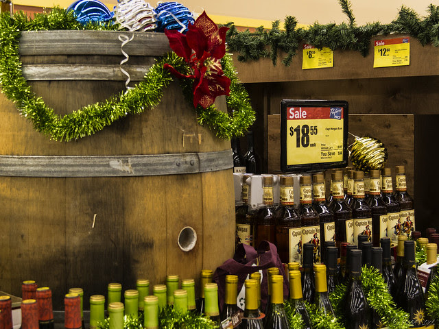 Albertson's at Christmas