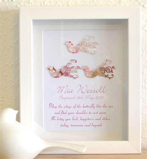 Love Bird Baby Girl Unique Christening Poem Gift Idea