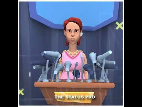 Animated status female version || Animated Attitude status female || Female version whatsapp status