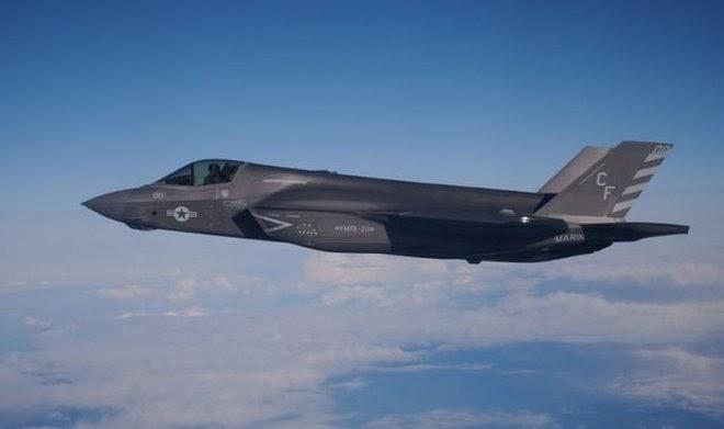 «Невезучий» истребитель F-35В случайно подбил сам себя