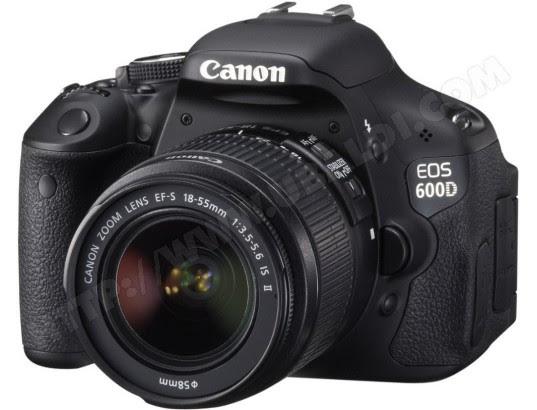 Avis Appareil Photo Numérique Reflex Canon Eos 600d 18 55