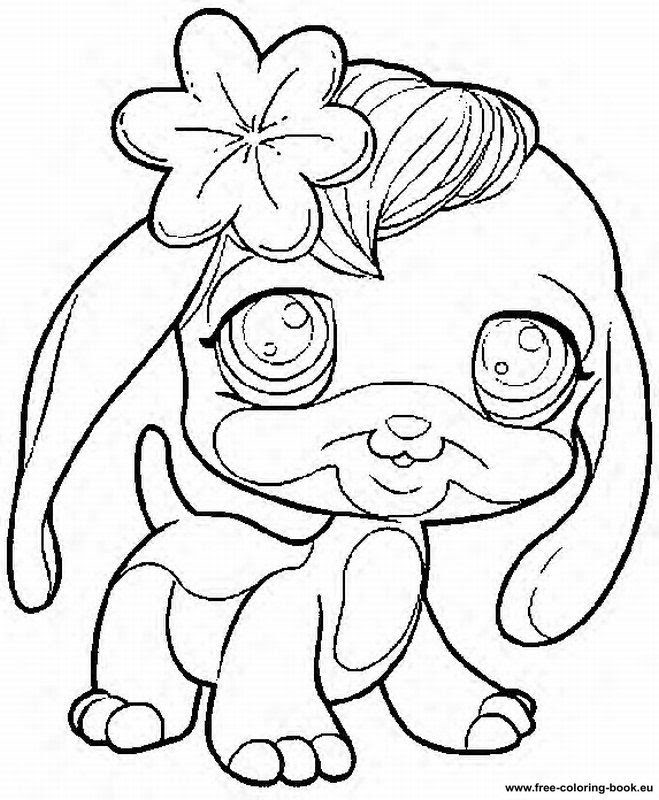 950 Top Coloring Pages Littlest Pet Shop Animals  Images