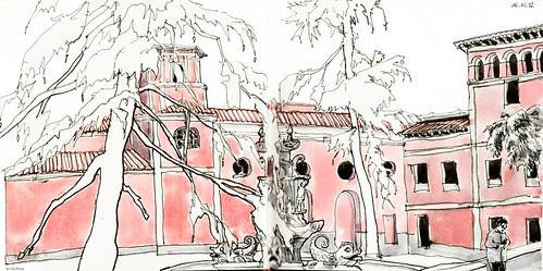 Jardines del arquitecto Ribera by aidibus